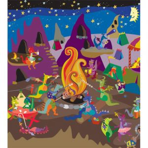 Dragons Campout from