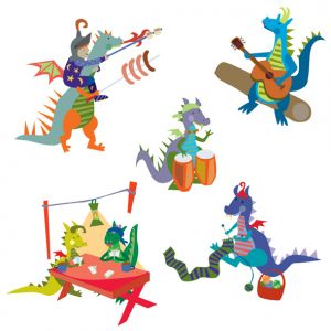 Dragons from