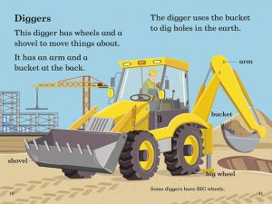 Big Machines — Read it Yourself with Ladybird, Level 2