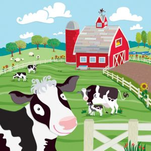 Cows on the Farm, client: Kiddie Konecto