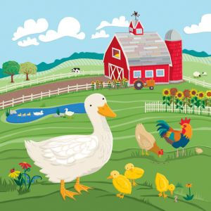 Ducks on the Farm, client: Kiddie Konecto