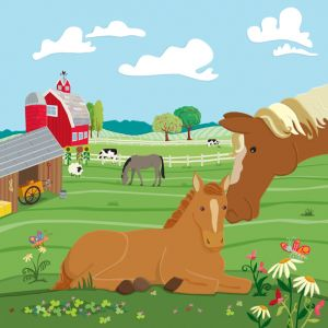 Horses on the Farm, client: Kiddie Konecto
