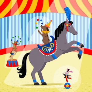 Circus Horses, client: Kiddie Konecto