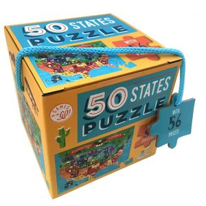 Games on the Go! 50 States Puzzle
