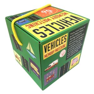 Games on the Go! Vehicles Memory Matching