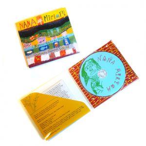 CD packaging for Nana Mirium