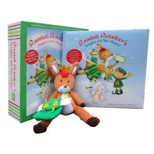 Book and packaging for Randall Reindeer