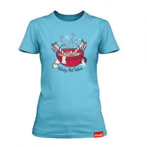 Tshirt design and illustration, client: Ticklebox Emporium of Whimsy