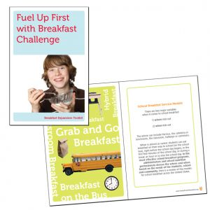 Breakfast Challenge Campaign booklet, client: Children's Alliance