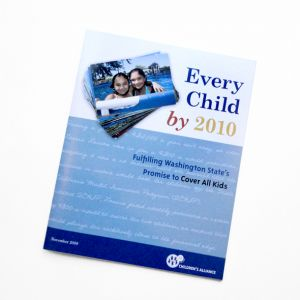 Cover All Kids Health Report, client: Children's Alliance