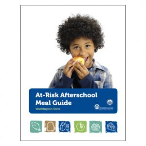 Afterschool Meal Guide, client: Children's Alliance