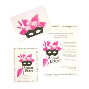 Washington Park Arboretum Gala invitations