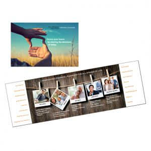 Capabilities brochure for BernsteinTrost, financial planners for MetLife