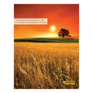 Marketing brochure for Horizon Ag-Products