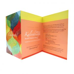 Invitation for HealthPoint's 2012 Kaleidoscope Gala fundraiser