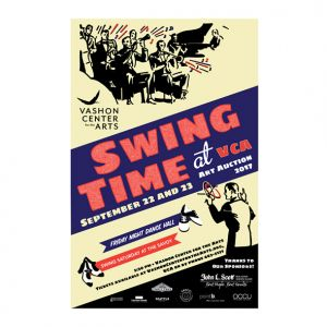 Vashon Center for the Arts art auction: Swing Time