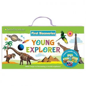 Smithsonian First Discoveries: Young Explorers • Board books and carrying case