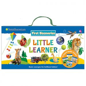 Smithsonian First Discoveries: Little Learner • Board books and carrying case